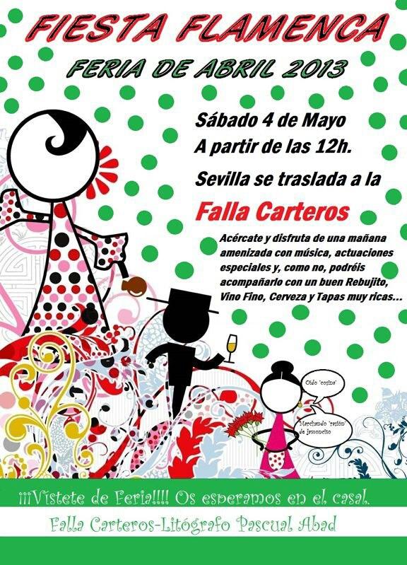 Este sábado 4 de mayo a partir de las 12 horas, os invitamos a pasar